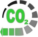 CO2 Fotografie Stock