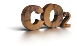 CO2 - anidride carbonica Fotografia Stock Libera da Diritti