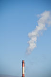 CO2 chimney smoke Stock Photo