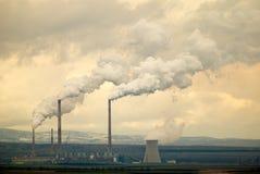 CO2 di riscaldamento globale Fotografia Stock Libera da Diritti