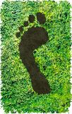 CO2 footprint Royalty Free Stock Photography