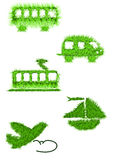 CO2-free transportation Stock Image