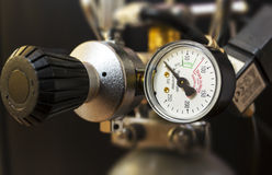 CO2 Manometer Stock Images