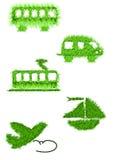 Co2-vrij vervoer Stock Afbeelding