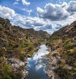 Coa rzeka Obrazy Royalty Free