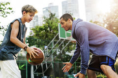 Coach Athlete Basketball Bounce Sport Concept stock photo