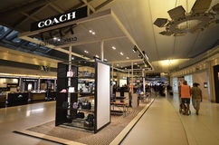 COACH boutiqie at Suvarnabhumi Airport Stock Photography