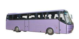 Coach bus. Isolated on white Stock Photos