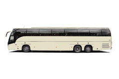 Coach bus. Isolated on white background Royalty Free Stock Image