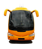 Coach bus. Front wief of isolated coach bus Stock Photo