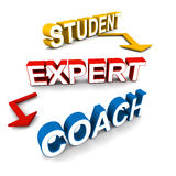 Coach concept Royalty Free Stock Photography