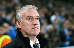coach de deschamps didier ・马赛olympique s 免版税库存图片