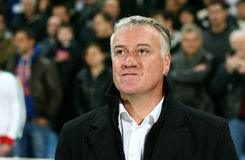 coach de deschamps didier ・马赛olympique s 库存图片