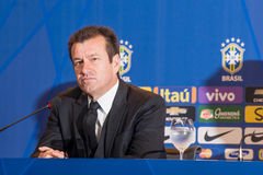 Coach Dunga. RIO DE JANEIRO/RJ, BRASIL - MAY 05, 2015 - Coach Dunga during convening of the national team for the Copa America in Chile in June Stock Photo