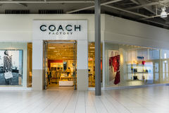 Coach Factory Store Royalty Free Stock Images
