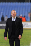Coach of FC Karpaty Stock Photography