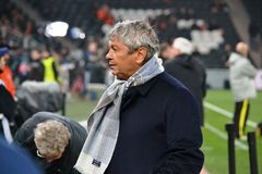 Coach of FC Shakhtar Mircea Lucescu Stock Photography