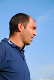 Coach of Hajduk team Stock Images