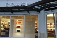 Coach Handbag Store Stock Photography
