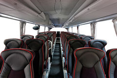 Coach interior Royalty Free Stock Image