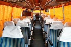 Coach interior Stock Photography