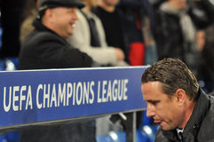 Coach Laurentiu Reghecampf pictured before UEFA Champions League game Stock Images