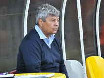 Coach Mircea Lucescu Royalty Free Stock Images