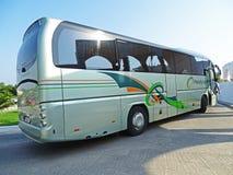 Coach Neoplan Tourliner in Psalidi / Kos (Greece) Stock Image
