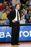 Coach Pat Riley Stock Photo