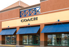 Coach Retail Store Exterior Royalty Free Stock Photography