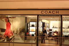 Coach Retail Store Royalty Free Stock Photography