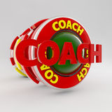 Coach sign Royalty Free Stock Photography