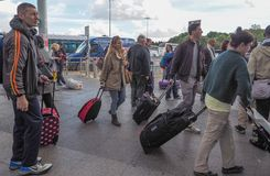 Coach Station in Stansted Stock Photography