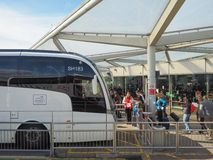 Coach Station in Stansted Stock Photos