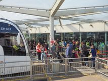 Coach Station in Stansted Stock Image