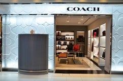 Coach store at Bangkok airport Stock Photo
