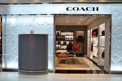 Coach store at Bangkok airport Royalty Free Stock Images