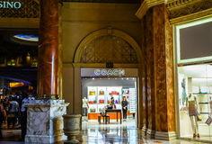 Coach Store. Entrance at The Forum Shop Caesars Palace Las Vegas Nevada Stock Photography
