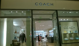 COACH store Stock Image