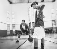 Coach Team Athlete Basketball Bounce Sport Concept stock photography