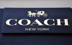 Coach trademark. Located in beijing,china stock photo