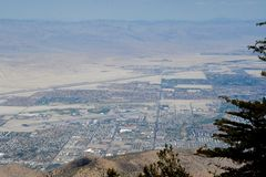 Coachella Valley Overlook Royalty Free Stock Photos