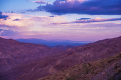 Coachella Valley Scenery Stock Images