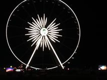 Coachella valley stage coach Farriswheel royalty free stock photography