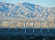 Coachella Valley windmills Royalty Free Stock Photography