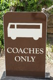 Coaches only sign royalty free stock photos