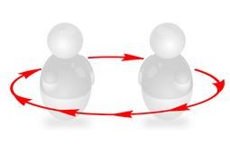 Coaching vector illustration
