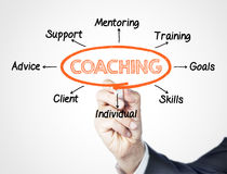 coaching Fotografía de archivo