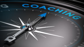 Coaching royalty free illustration