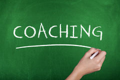 Coaching Background Concept Stock Photo